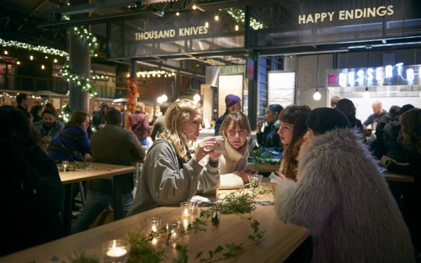 christmas lates at old spitalfields market