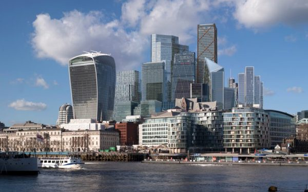how the london skyline will take shape