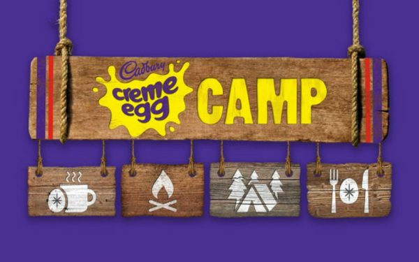 a cadbury creme egg camp is coming