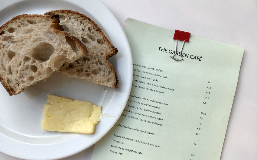 garden cafe | london on the inside
