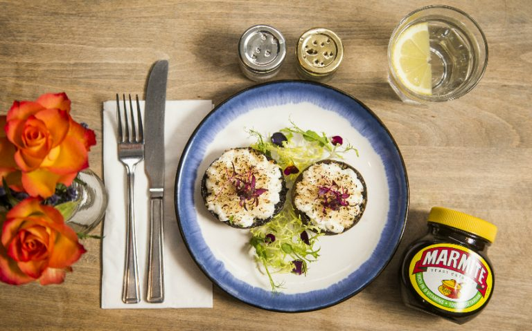 marmite mushroooms | cupboard love cafe | london on the inside