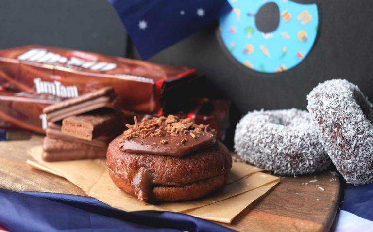 tim tam doughnut | london on the inside