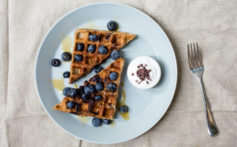 waffles, selfridges | london on the inside