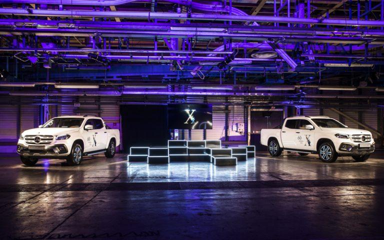 Mercedes Benz X-Class   London On The Inside