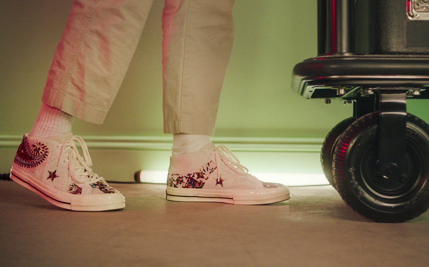 converse one star hotel | london on the inside