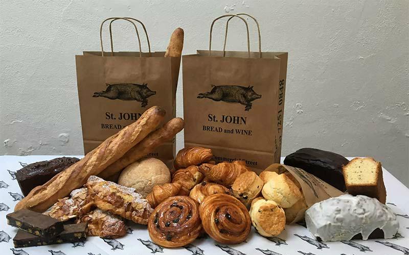 st john bakery | london on the inside