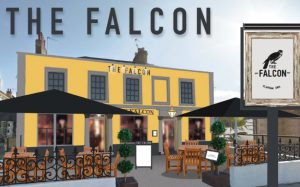 get your food & booze fix at the falcon's exclusive launch party