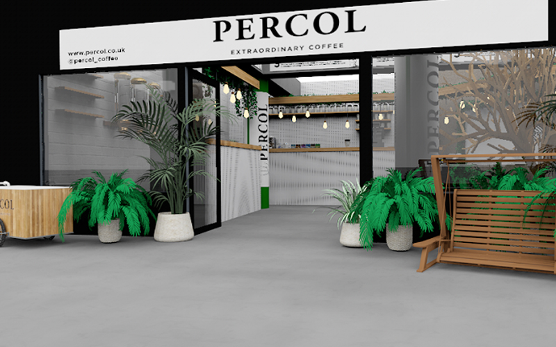 Percol Coffee   London On The Inside