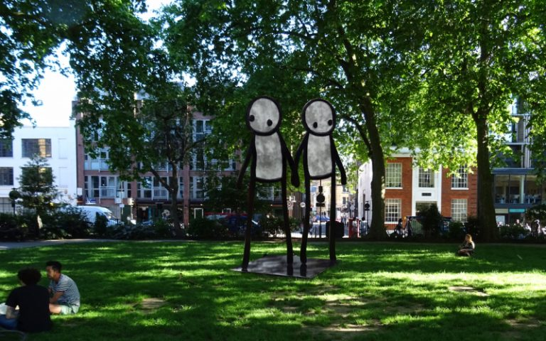 stik hoxton square | london on the inside