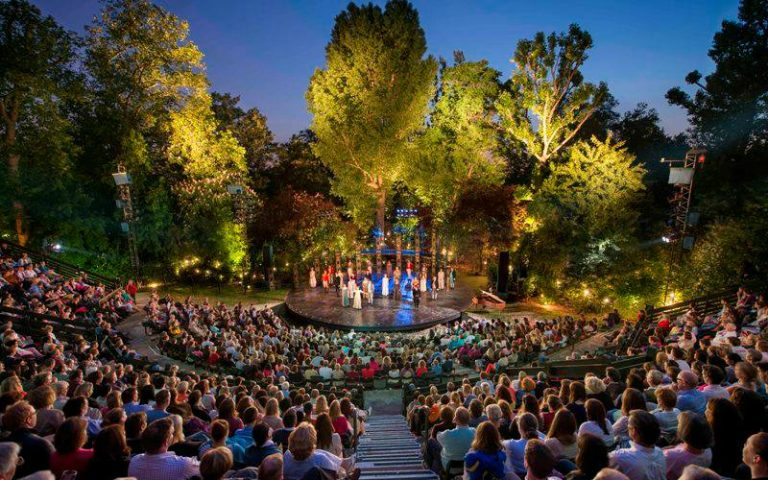 open air theatre | london on the inside