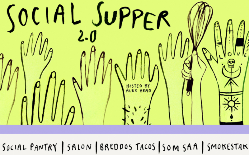 social supper | london on the inside