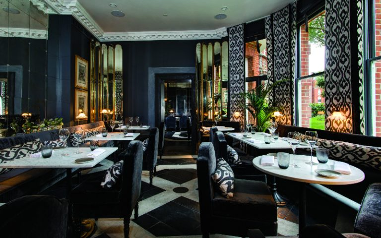 the franklin | london on the inside
