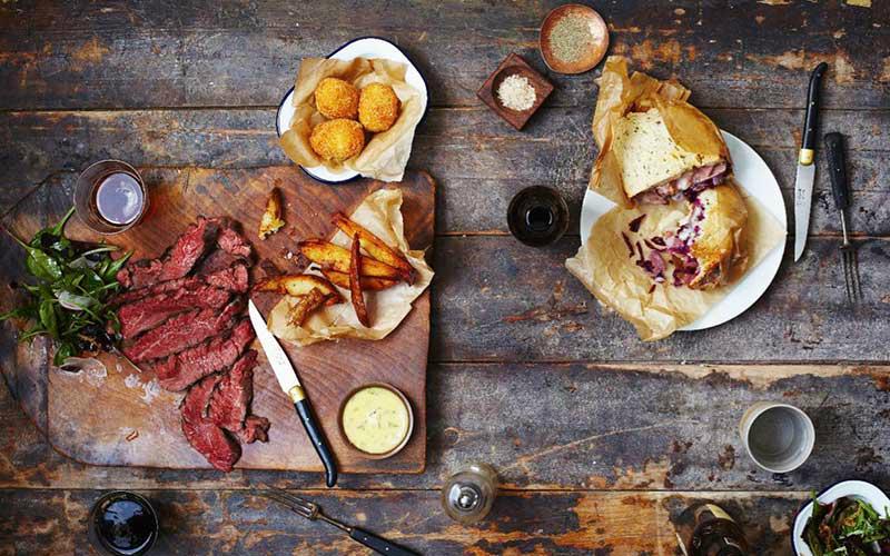 beef & brew   london on the inside