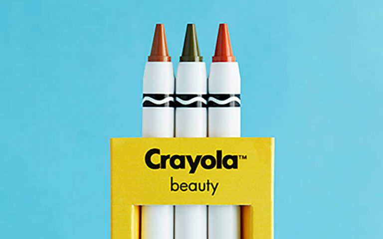 crayola make-up | london on the inside
