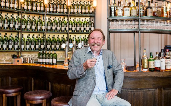 scotch malt whisky society tasting  with charlie maclean