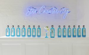 get creative at bombay sapphire's canvas