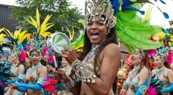 parade at notting hill carnival