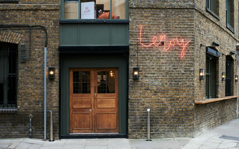 One of the best restaurants in Shoreditch, Leroy