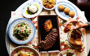 £15 black cod and wagyu at zelman meats