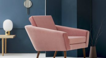 Pink Armchair