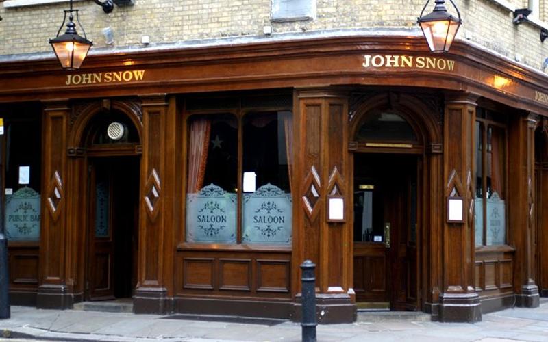 The john Snow Pub in Soho