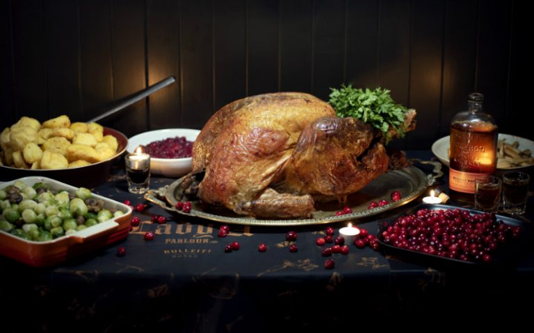 Turkey and roast potatoes