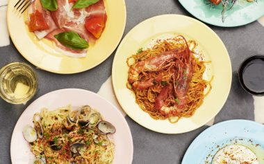 UNLIMITED PASTA AND BOOZE AT PASTAIO