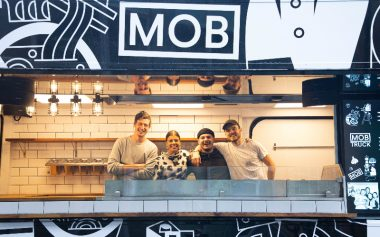 FREE ZERO-WASTE LUNCHES FROM MOB KITCHEN